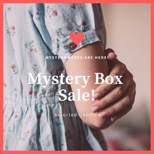 !MYSTERY BOX! FIVE ITEMS